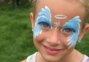 peinture sur visage enfants